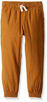The Children's Place Girls 4 Pocket Solid Joggers (Yellow_6)