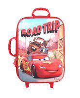 Disney School Bag for Boys Pixar Car Road Trip 25 (L) Polyester (Dat-850-02-Dabba), Colour: Red