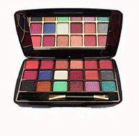 Half N Half 18+ COLOR MAKHMALI (POCKET SIZE) EYE SHADOW(Z-123_03), BY R K STORE NET 12.8 g (18 COLOR)