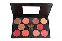 Miss Claire Professional Blusher Palette 2, Multi, 45 g