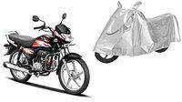 SHEEN Silver Universal Bike Cover for HFDeluxe (Dust Resistant, Sunlight Protection)