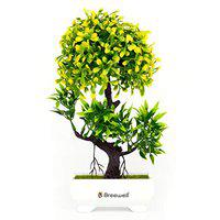 Breewell Home Decor Potted Artificial Flowers Plant-BW07