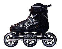 Credence Sterling Adjustable Inline Skates 100 mm with ABEC-11 Bearings (Large (Euro Size 39-42), Green)