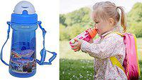 RAAYA Sipper Water Bottle for Kids Girls and Boys for School Pack of 1 (M6)