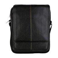 URBAN KINGS Indigo Mens Shoulder Bags Cross Body Vintage Messenger Bags Sling Bag (Black)