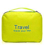 D'JazZTM toiletry Bag Travel Organizer Cosmetic Bags Makeup Bag Toiletry Kit Travel Bag Travel Toiletry Bag Unisex (Green)