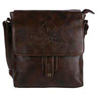 URBAN KINGS Indigo Men's Faux Leather Cross Body Vintage Messenger Bags