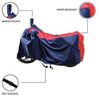 CLASS ONE Hero Destini 125 |Water Resistant| UV Protection| Dirt & Dust Proof Motorcycle|Bike Body Cover (Stripe RED)