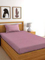 RD TREND Cotton 144TC Single Bed Sheet (Size-90 inch x 60 inch) with 1 Pillow Cover (Size-18 inch x 28 inch)