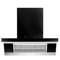 Prestige 90 cm 1100 m/HR Auto-Clean Angular Kitchen Chimney (AKH 900 MSS, 2 Baffle Filters, Touch Control, Black)
