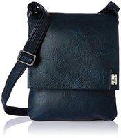 Baggit Men's Messenger Bag (Blue) (Unitsnits 1)