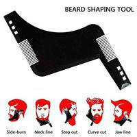 Morges Beard Shaping And Styling Tool Perfect Beard Edging Line Up For Men And Boys Black 20 Gram Pack Of 1