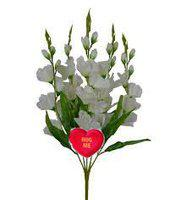 Hug Me's Artificial Flower Collection There are Somany Beautiful Reasons to 'Be Happy',One of Gladiolus