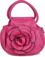 DN Enterprises Women's Handbag (Rose_Handbag-Light Pink_Transparent)