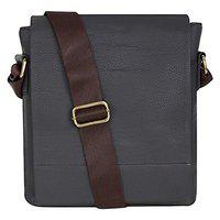 Khandelwal & Sons Men's and Women's Leather Casual and Formal Messenger Bag (Brown)