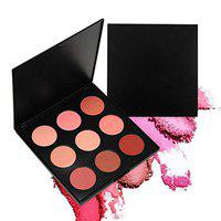 Futaba Mineral Blush Palette-9 Colors-Flame