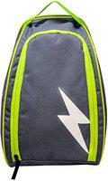 CHARGED Husky Polyester Shoe Bag (Sky/Green)