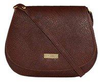 3G Collections Women's Sling Bag (Brown)