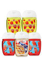 Bath and Body Works BACKYARD BLISS 5-Pack PocketBac Sanitizers Hand Sanitizers. 1 Oz each