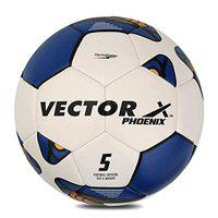 Vector X Phoenix Thermofusion Football (Size-5) (White-Blue)