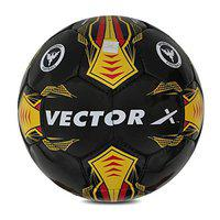 Vector X Germany Hand Stitched Football (Black-Yellow) (Size-3)