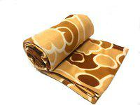 N G PRODUCTS Supersoft Fleece Double Bed AC Blanket, Bedsheet - Size 90 X 90 inch, 1200 Gram (Multicolor)