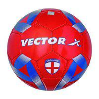 Vector X England Hand Stitched Football (Red-Blue) (Size-3)