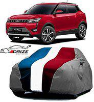 DRIZE Exotic Quality Mahindra XUV 300 Car Covers with Triple Stitched Fully Elastic Ultra Surface Body Protection (Baklol - Multicolor)