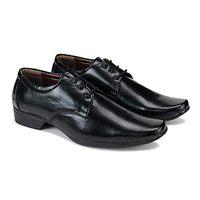 SWIGGY Formal Shoes,Slip On Office Shoes,Party Shoes,Lace Up Shoes, Shoes,Derby Shoes,Leather Shoes, Shoes,Light Weight Comfortable Shoes for Men's/Boy's Black