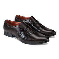 SWIGGY Formal Shoes,Slip On Office Shoes,Party Shoes,Lace Up Shoes, Shoes,Derby Shoes,Leather Shoes, Shoes,Light Weight Comfortable Shoes for Men's/Boy's Brown