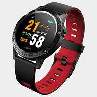 Bingo F6s Smart Fitness Band - Smart Bands for Men and Women with All Activity Tracker & Heart Rate (Red)