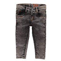 Tales & Stories Baby Boys Brown Regular Fit Mid-Rise Jeans