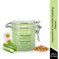 Cosmetofood Professional Chamomile & Cucumber Hydrating Face Cleanser, 200 mL