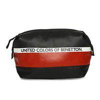 United Colors of Benetton Black Toiletry Bag (0IP6TOBGMP02I)