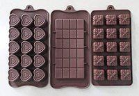 MASOOM NX Bakeware Silicon Set of 3 Chocolate Mould / 3 Assorted Mould Combo (48/49/50)