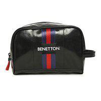 United Colors of Benetton Black Toiletry Bag (0IP6TOBGMP04I)