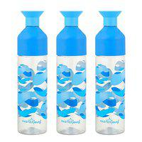 Masterware Crown Blue-3 Water Bottle with 1000ml.(Pack of 3)