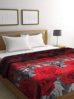 Cortina 100% Microfiber Double Bed Fleece Blanket, Super Soft Single Bed Lightweight AC Fleece Blanket - Multicolor (200 X 230 cm)