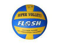 Flash Oscar Volleyball, 32 Panel Rubber Volleyball, Official Size and Weight