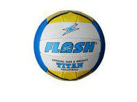 Flash Super Titan Volleyball, 32 Panel Rubber Volleyball, Size 4 Volleyball