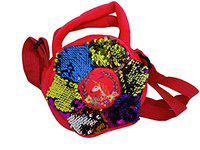 Glan Kids Sequin Bag for School and Traveling | Multicolour