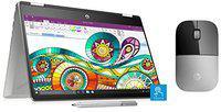 HP Pavilion x360 Core i3 8th Gen (4GB/256GB SSD/Win 10/MS Office/Inking Pen) 14-dh0107TU & Z3700 Wireless Mouse