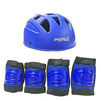Hipkoo All Variants Protection Guards Skating and Cycling Protective Gear (Blue (Helmet Set 3))
