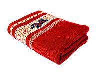 Space Fly Cotton Attractive Big Size Bath Towels (Size: 28X58 inch_1 Piece)
