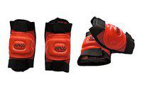 Hipkoo All Variants Protection Guards Skating and Cycling Protective Gear (Red (Set 2))