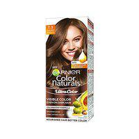 Garnier Color Naturals Crme Riche Hair Color, 730 Golden Brown, 55ml + 50g