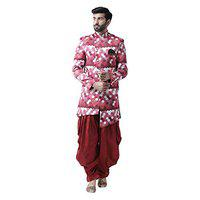 hangup sherwani set one top and one bottom set available in and pattern,(s to 3xl)