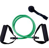Burnlab Resistance Tubes for Home Gym Workouts (Green (20LB))