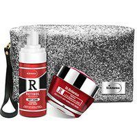 StBotanica Retinol Advanced Combo | Face Wash (120ml) + Anti Aging Face Mask With Pouch