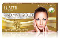 Luster Radiant Gold Facial kit (Paraben & Sulfate Free)-115g